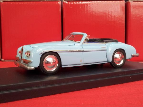 KLK-054 ALFA ROMEO 6C 2500SS Spyder Speciale Pininfarina Principe Ali Khan Show Torino 1950