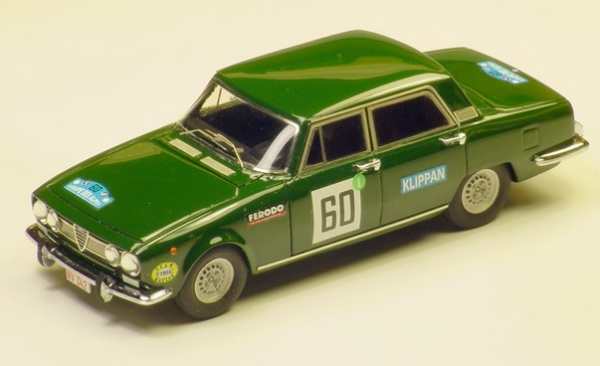 GMK-085ALFA ROMEO 1750 COPPA DELLE ALPI 1968