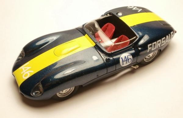 PI-233 Lister  Jaguar Race Laguna  Seca 1961