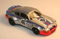 """GMK-088PORSCHE CARRERA 911 RS SPORT n° 46 """"MARTINI"""" LE MANS 1973"""