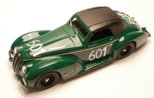 KLK-046 ALFA ROMEO 6C 2500 SS N° 601 Bartecchi Mille Miglia 1952