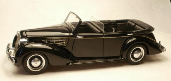 KLK-056 ALFA ROMEO 6C 2300B Lungo Cabrio 6 posti Mussolini 1938