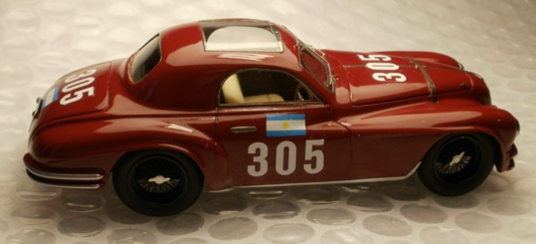 KE-002Alfa Romeo 2500ss Targa Florio 1950 n° 305 drive Schwelm/Colonna