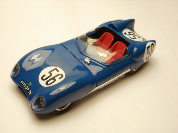 PI-209 Lotus XI Climax N° 56 Le Mans '58 Hechard-Masson