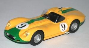 PI-211 Lister Jaguar  N° 9 Le Mans  1958 Drive F.Rousselle-C.Dubois